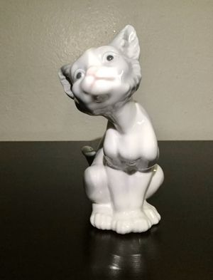 MINT LLADRO PORCELAIN CAT KITTY FIGURINE #414 RETIRED IN 1992 for Sale in Brooklyn, NY