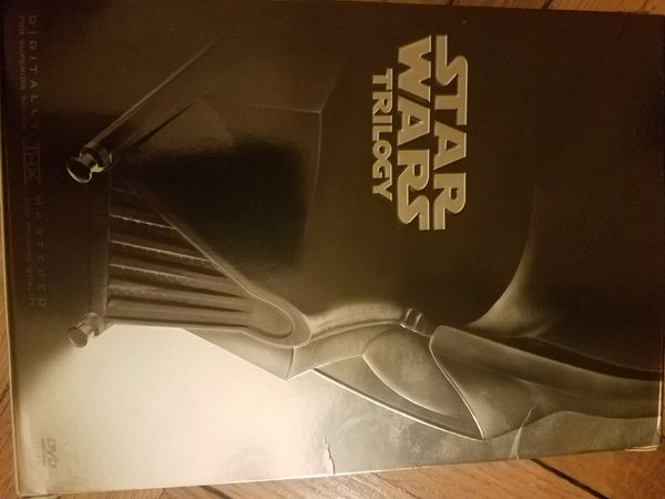 Star Wars original trilogy DVD box set