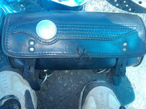 Early 40s handle bar bag Harley 135$ for Sale in Hayward, CA