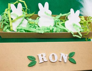 Easter bunny decor easter bunny crafts waste bunny gifts for kids for Sale in Cape Coral, FL