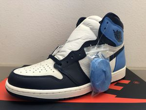 Jordan 1 Obsidian UNC - Size 7Y & 10 - Brand New DS for Sale in Sunnyvale, CA