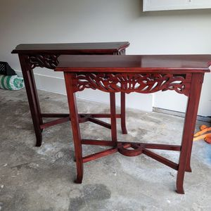 Set Of 2 Entrance Wall Console Table for Sale in Lynnwood, WA