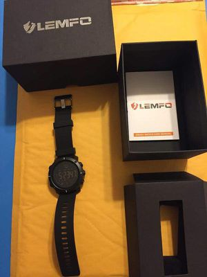 New LEMFO Unisex Smart Watch Sports Waterproof IOS Android Fitness Tracker for Sale in Miami, FL