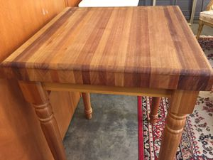 Butcher Block Island. REDUCED!!! for Sale in Inman, SC