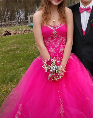 Hot Pink Prom Pageant Dress for Sale in Somerton, OH
