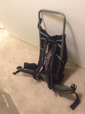 SWISS CAMPING GEAR brand - Framed hiking backpack for Sale in Issaquah, WA