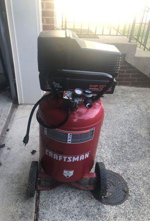 Craftsman air compressor for Sale in Bristow, VA