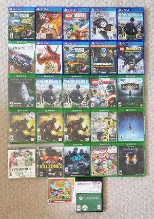 PS4/XBO/3DS/PS3 Cases ONLY (NO GAMES) for Sale in Ellicott City, MD