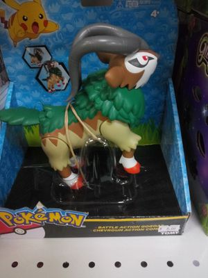 New pokemon battle action gogoat for Sale in Martinsburg, WV