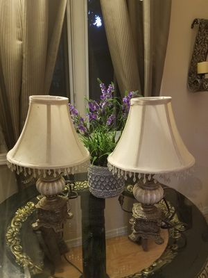 Antique table lamp small size set of 2 for Sale in Los Angeles, CA