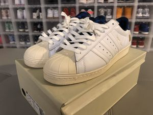 """Size 10.5 Adidas super star """"Bape / undefeated"""" for Sale in Houston, TX"""