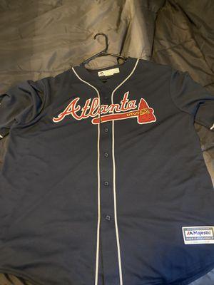 Majestic Brand New Atlanta Braves Jersey XXL for Sale in Detroit, MI