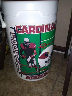 Vtg Arizona cardinals cooler for Sale in Maricopa, AZ