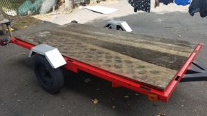 Homemade utility trailer size 4/8 feet for Sale in Wolcott, CT