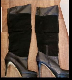 Suede leather boots size 8 for Sale in Gardena, CA