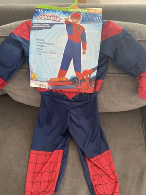 Spider-Man costume 3-4T for Sale in Queens, NY