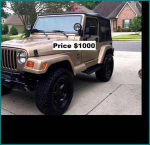ֆ1OOO_1999 Jeep Wrengler for Sale in West Covina, CA