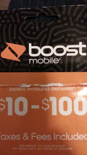 100$ boost card for Sale in Converse, TX