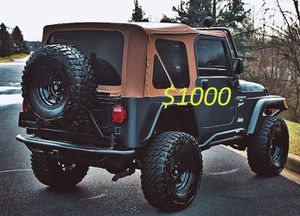 Fully Loaded 2000 Jeep Wrangler For Sale!!!-$1000 for Sale in Anaheim, CA