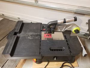 ROCKWELL BENCH TOP TABLE SAW for Sale in Chesapeake, VA