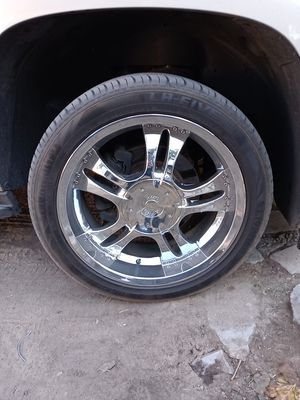 For chev Tahoe. 20 inch new tires. 500.$ for Sale in Fresno, CA