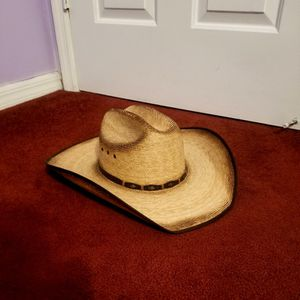 COWBOY HAT SEE ALL PICES FOR SIZE LIKE NEW for Sale in Loxahatchee, FL