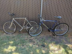 2 street and off road bikes Giant & Roadmaster for Sale in Lathrop, CA