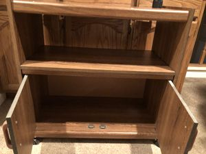 Tv stand hardwood for Sale in Antelope, CA