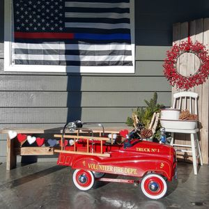 Vintage Fire Truck Pedal Car for Sale in Everett, WA