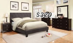 QUEEN BED FRAME W/ MATTRESS for Sale in Los Angeles, CA
