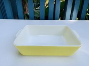 Vintage Pyrex primary yellow 503 refrigerator dish for Sale in Fountain Valley, CA