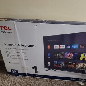 Brand New Selaed TCL smart TV 65 Inch for Sale in Silver Spring, MD