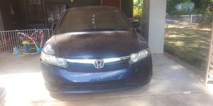 2008 Honda Civic 4 door Blue Title clear for Sale in Conyers, GA