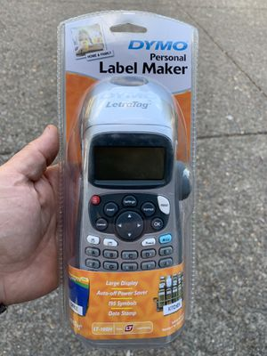DYMO LetraTag Handheld Label Maker for Office or Home for Sale in Clackamas, OR