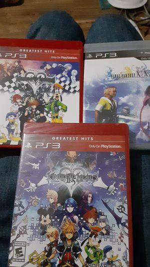 Kingdom Hearts 1.5, 2.5, & X/X2 hd remasterd for Sale in Yuma, AZ