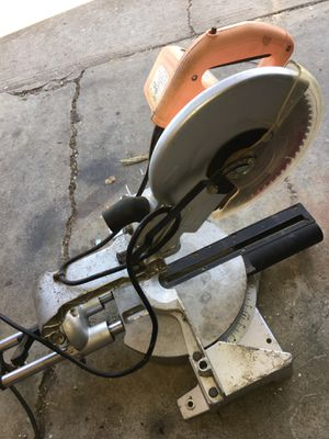 "Chicago 10"" slide miter saw for Sale in San Jose, CA"