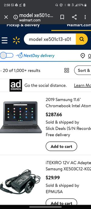 Samsung Chromebook 3. Mint for Sale in Pawtucket, RI