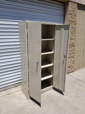 Industrial Metal Cabinet ( key is missing ) for Sale in Pomona, CA