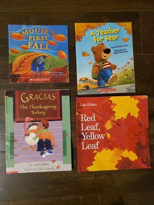 Kids Books- 4 Fall Picture Books for Sale in Vancouver, WA