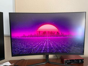 ViewSonic 144Hz 27inch 1080 (Curved) for Sale in San Marcos, CA