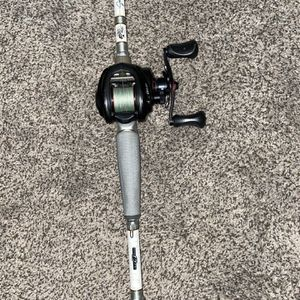 Abu Garcia Revo Sx With A Jhonny Morris Carbonlite Rod for Sale in Rancho Cucamonga, CA