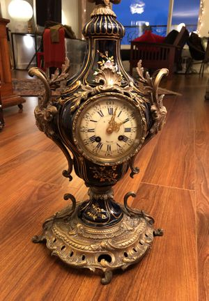 Rare Antique French Clock - E. Charles of Epernay for Sale in Los Angeles, CA