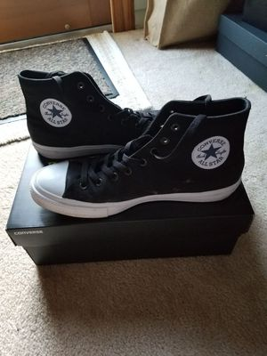 Converse Chuck Taylor 2 in White/Black 11 Medium for Sale in Vienna, VA