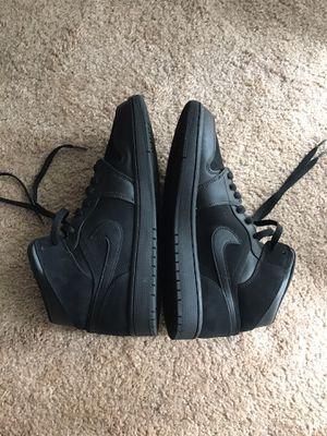 Jordan 1 Mid All Black Size 9.5 for Sale in Gainesville, FL
