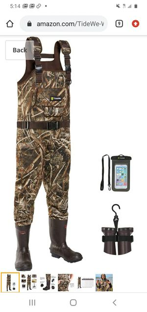 Realtree max 5 waders new!! Size 11 for Sale in Garland, TX