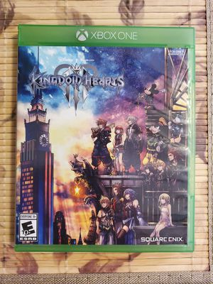 Kingdom Hearts III 3 For The Xbox One Video Game for Sale in Houston, TX