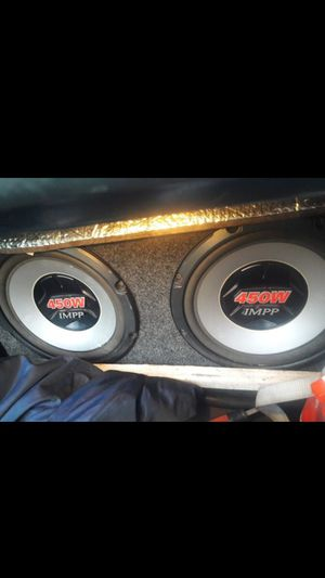 Sub and amp good for Sale in Waterbury, CT