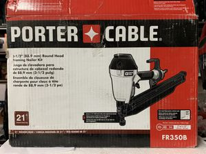 Porter canble round head framing nailer kit 3-1/2 (88.9mm) for Sale in Garden Grove, CA