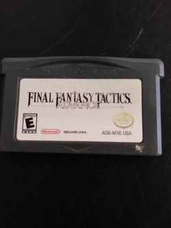 Final Fantasy Tactics Advance Nintendo Game Boy Advance Game Cartridge for Sale in Yardley,  PA