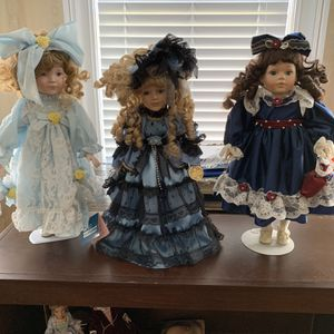 Lovely Vintage Dolls! $25 for Sale in Bradenton, FL